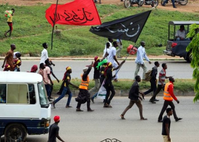 Members of Islamic Movement of Nigeira, IMN aka Shi'ites