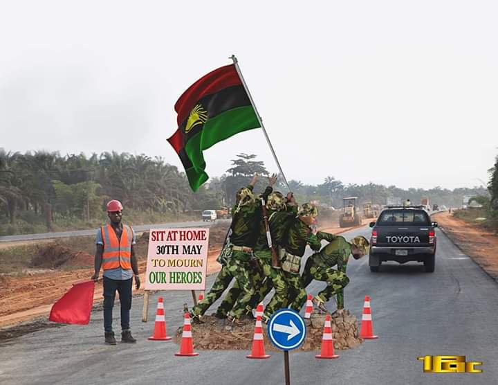 To show Nigeria Army beefing up security ahead of