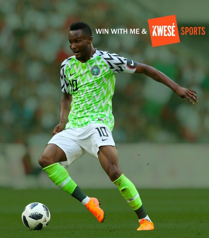 Mikel Obi during last FIFA World Cup